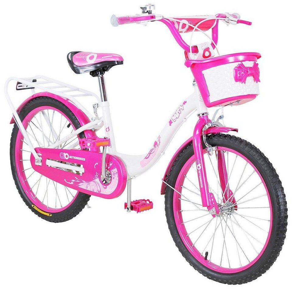 b908fb314c9b71 ACTIONBIKES MOTORS Kinderfahrrad »Daisy«, 20 Zoll, 1 Gang, Rahmenhöhe 27,5  cm online kaufen | OTTO