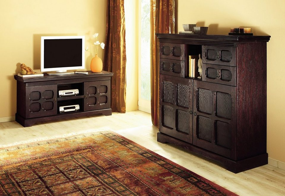tv kommode home affaire online kaufen otto. Black Bedroom Furniture Sets. Home Design Ideas