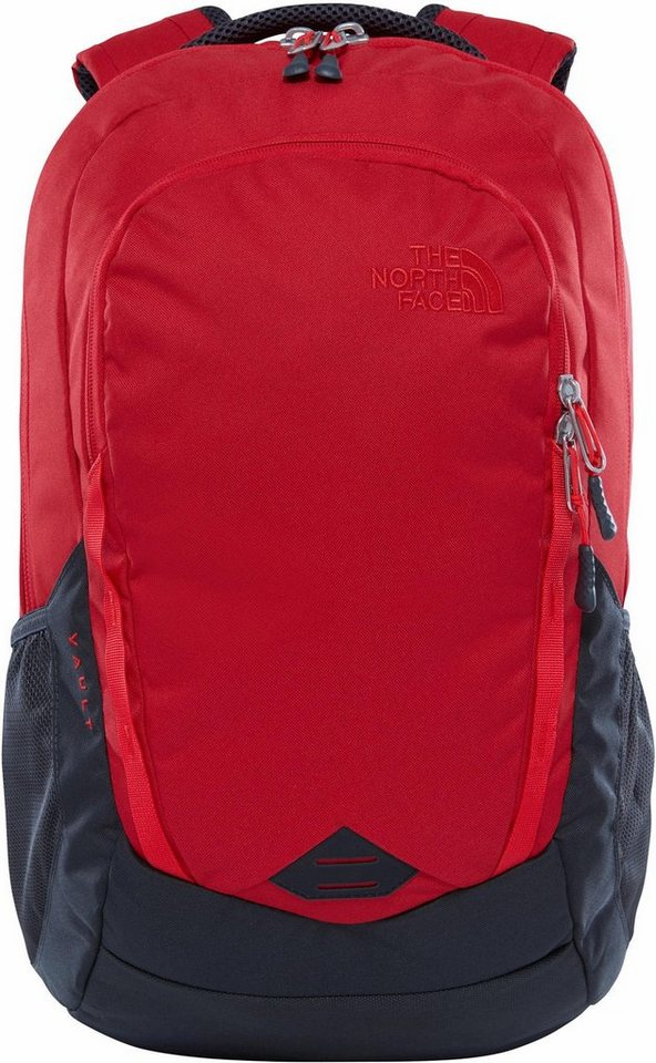 e842379011 The North Face Rucksack mit 15-Zoll Laptopfach, »Vault, Red/Grey ...