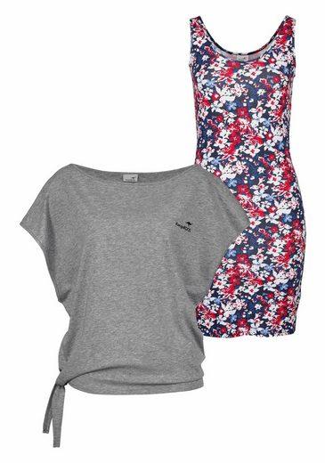 KangaROOS 2-in-1-Kleid (Set, 2 tlg., mit T-Shirt), im Set mit Shirt und Kleid