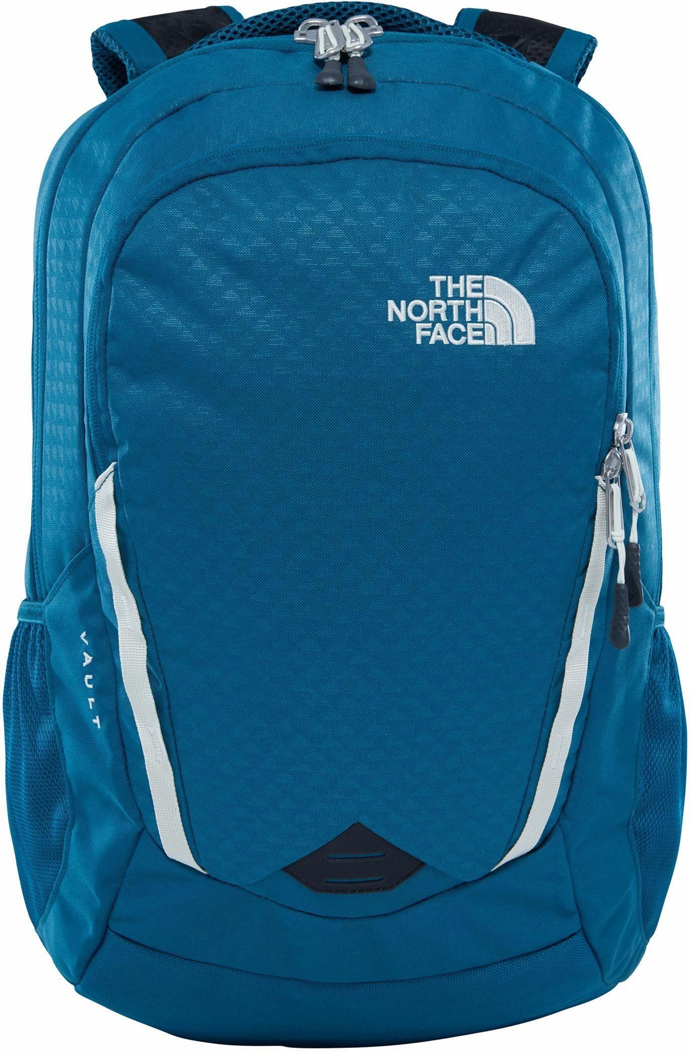 The North Face Rucksack mit 15-Zoll Laptopfach, »W Vault, Blue/White«