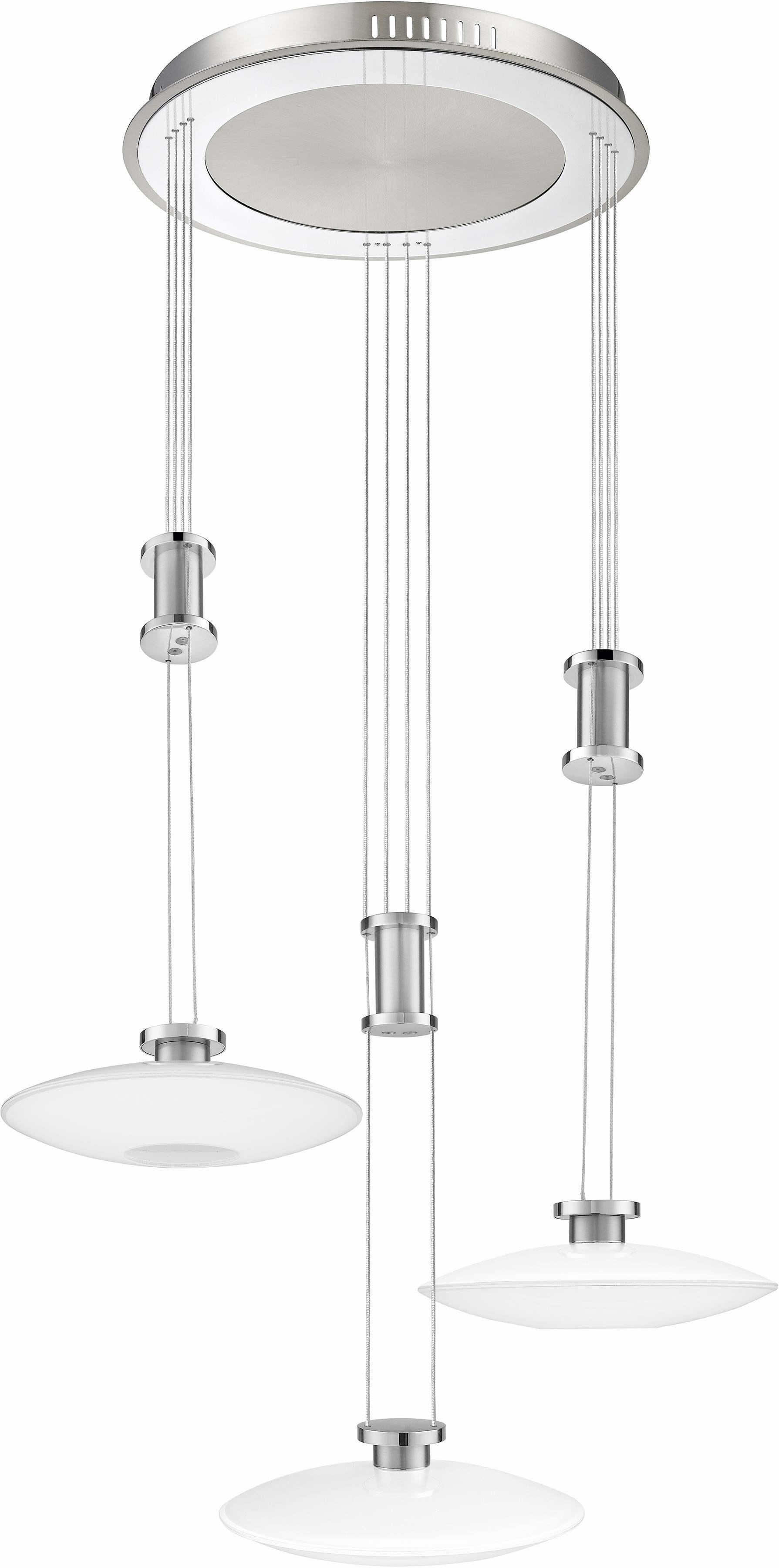 TRIO Leuchten LED Pendelleuchte »ELINA«, 3-flammig