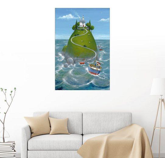 Posterlounge Wandbild - Peter Adderley »Die Insel«