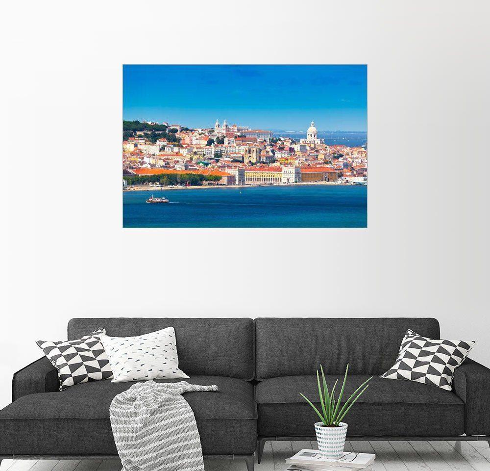 Posterlounge Wandbild - Jörg Gamroth »Blick auf Lissabon«
