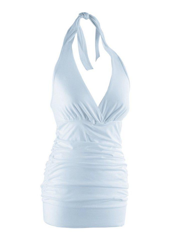 Aniston CASUAL Neckholdertop in attraktiver Farbpalette | Bekleidung > Tops > Neckholdertops | Weiß | Aniston CASUAL