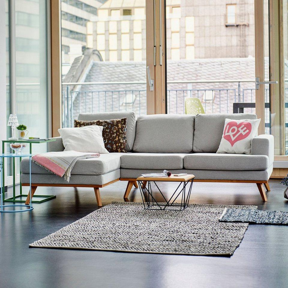 Wohndesign Polstermöbel: Ikarus Sofa »Larvik 2-Sitzer Mit Longchair Links«
