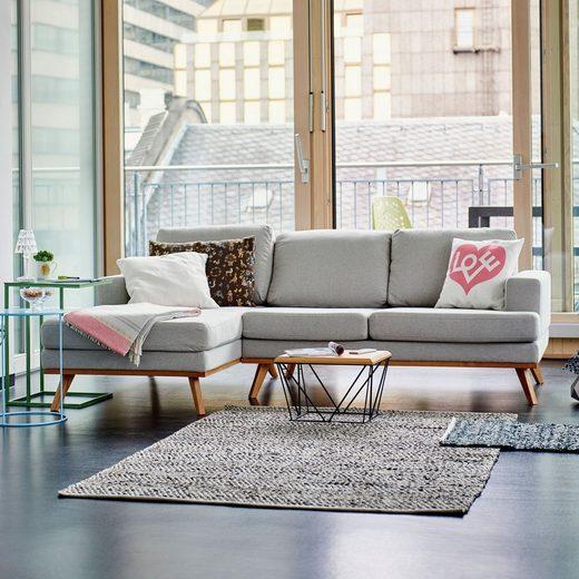 ikarus Sofa »Larvik 2-Sitzer mit Longchair links«