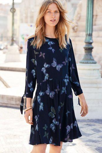 Next Kleid mit Bindeärmeln