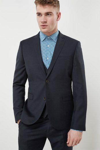 Next Strukturierter Baukasten-Anzug-Sakko