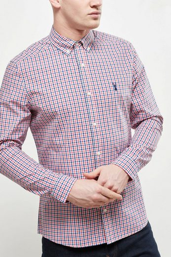 Next Long-sleeved Shirt With Gingham