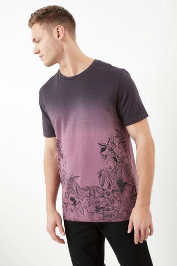 Next Hemd mit verblichenem Blumenprint