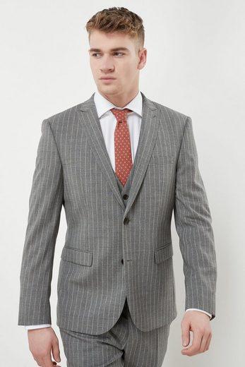 Next gestreifter Slim-Fit-Anzug: Hose
