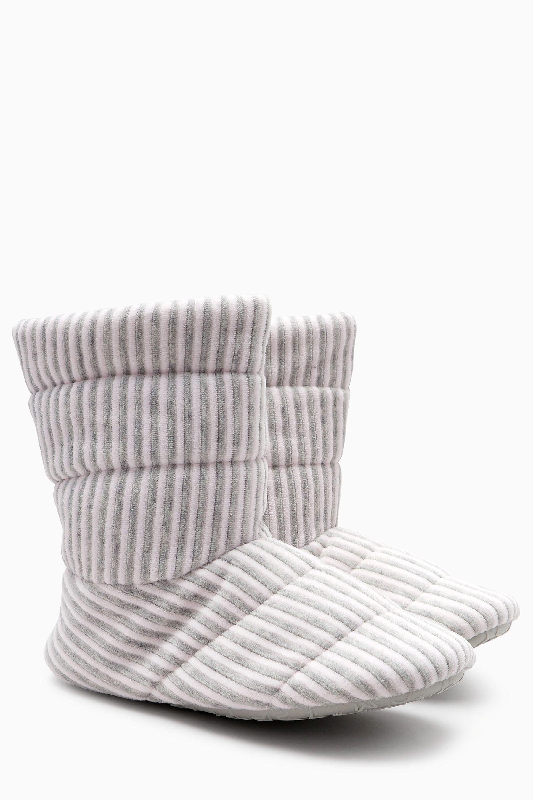 Next Slipper-Stiefel in Steppoptik online kaufen  Pink Stripe