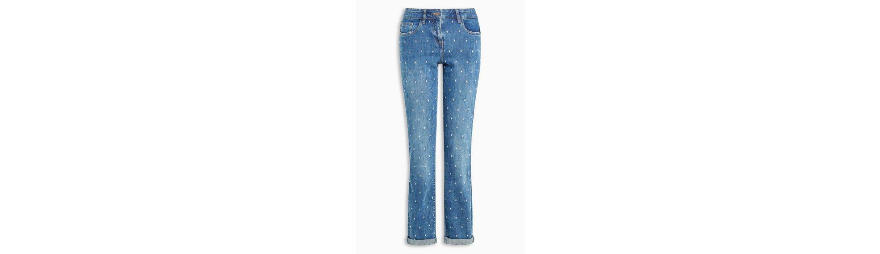 Günstig Kaufen Outlet-Store Besuchen Neue Next Legere Skinny-Jeans mit Stickereien Authentischer Online-Verkauf Besuchen Zu Verkaufen Verkauf Online-Shopping AssrL9