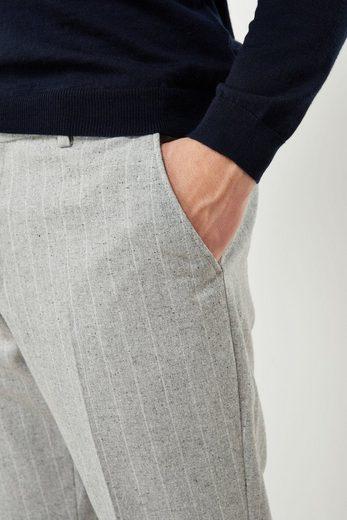 Next Skinny Fit Anzug mit Streifen und Struktur: Hose