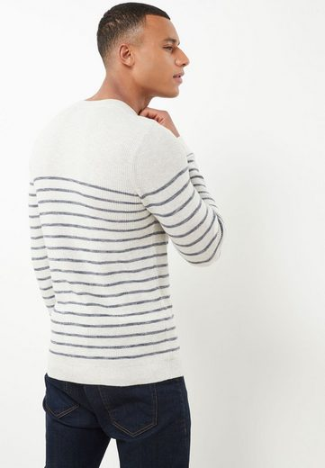 Next Crew-neck Pullover Sailor Stripes With