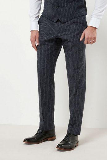 Next Slim Fit Anzug mit Streifen und Struktur: Hose