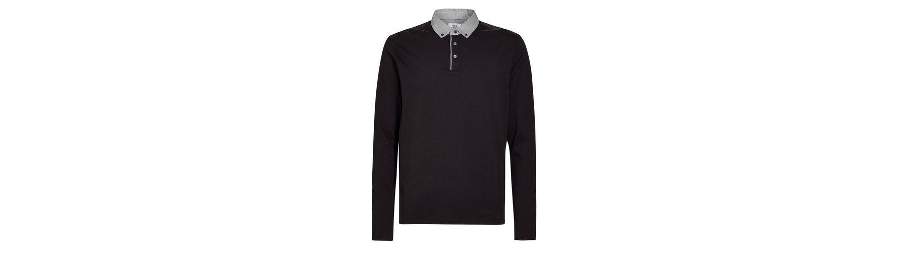 Next Langarmpolohemd mit abgesetztem Kragen Billig Authentische Billig Verkauf Empfehlen Niedrigster Preis Verkauf Online Gutes Verkauf Günstig Online DqDDSmBul