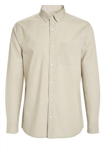 Next Langärmliges Popeline-Hemd