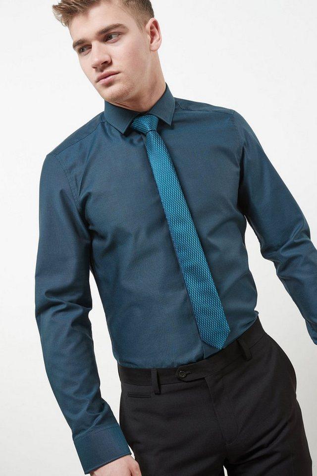 next slim fit hemd mit krawatte im set kaufen otto. Black Bedroom Furniture Sets. Home Design Ideas