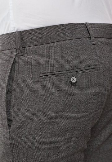 Next Hosen im Skinny-Fit mit Karomuster und Struktur