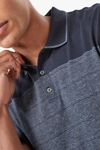 Next Hochwertiges Poloshirt mit abgesetzten Kanten