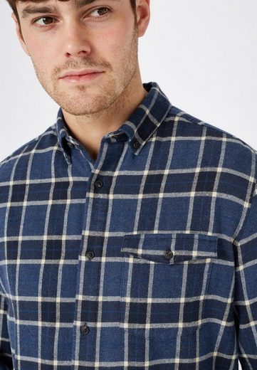 Next Shirt With Roughened Surface And Check Pattern