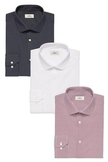 Next Bedruckte Regular-Fit Shirts, 3er-Pack 3 teilig