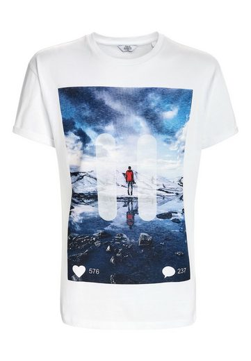 Next T-Shirt mit Foto-Print