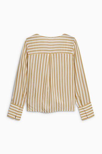 Next Bluse mit Rüschen vorne
