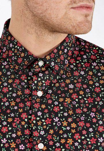 Next Slim-fit Hemd Mit Floralem Print