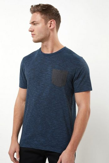 Next T-shirt With Contrasting Breast Pocket