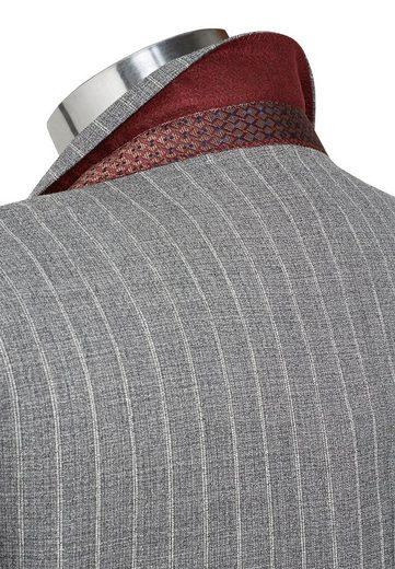Next gestreifter Slim-Fit-Anzug: Sakko