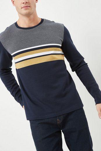 Next Langärmeliges T-Shirt mit Streifen