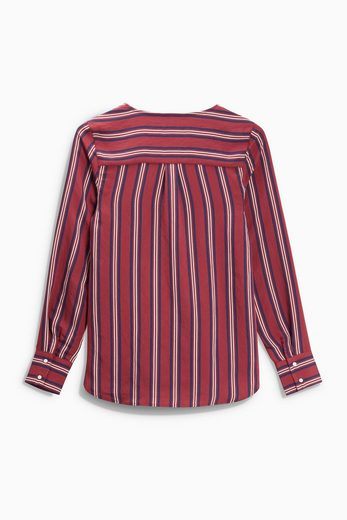 Next Bluse in Wickeloptik