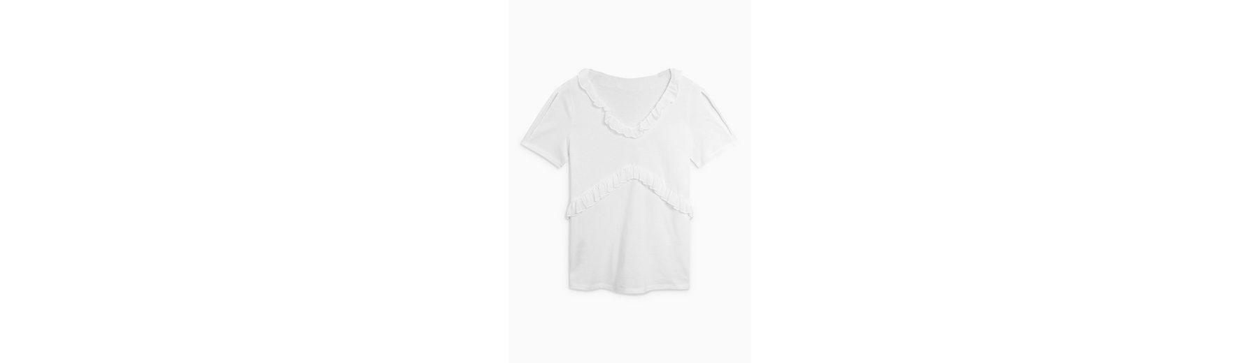 Next T-Shirt mit Rüschen Billig 2018 Unisex Einen Günstigen Online-Verkauf Billig Verkaufen Niedrigsten Preis Verkauf Nicekicks v6fOSwXAe