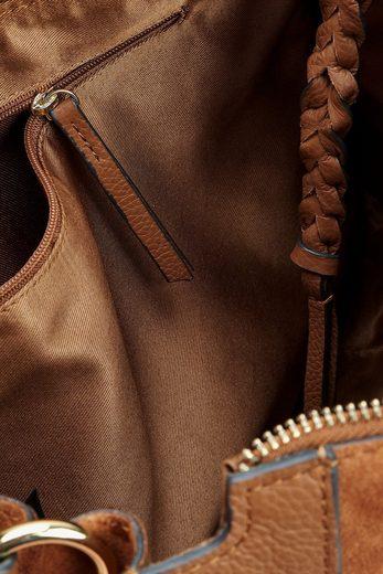 Next Große Schultertasche aus Leder