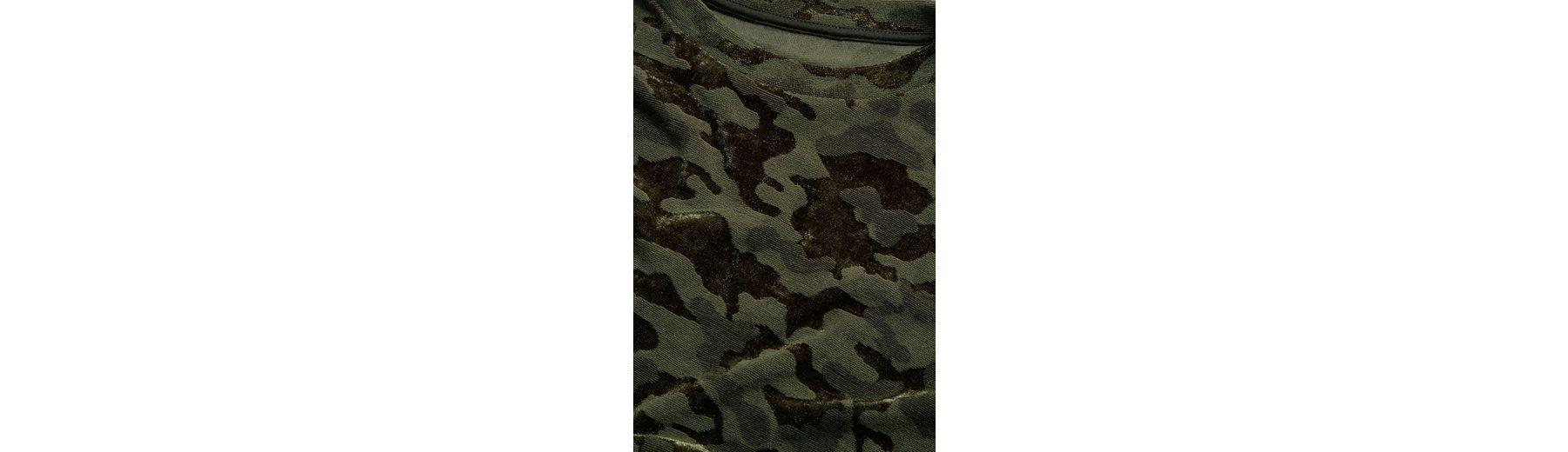 Next Sweatshirt mit Camomuster Outlet Großer Rabatt GenE5P