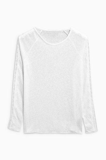 Next T-Shirt aus Leinen