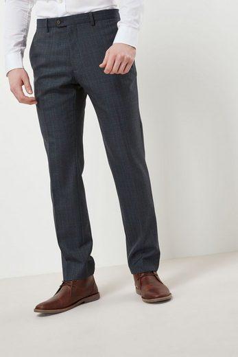 Next Eleganter Anzug mit Karomuster: Hose
