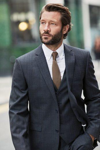 Next Eleganter Anzug mit Karomuster: Sakko