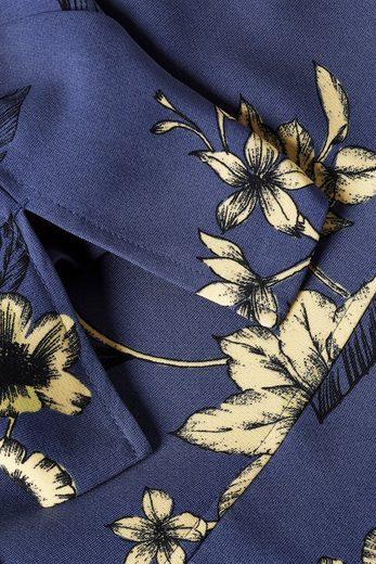 Next Bedrucktes Kleid mit schwingendem Schößchensaum