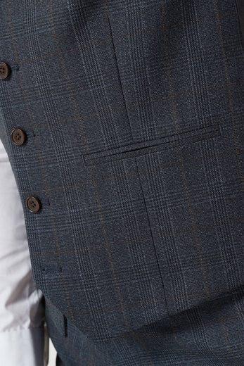 Next Eleganter Anzug mit Karomuster: Weste
