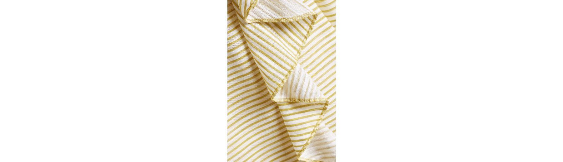 Verkauf Next Gestreiftes T-Shirt mit Rüschenärmel Billig Verkauf Angebote pHRGMYPYnV