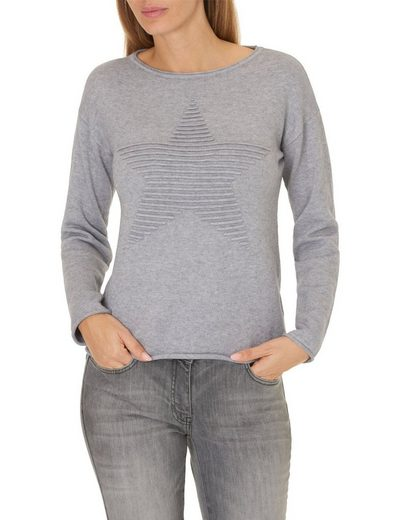 Betty Barclay Strickpullover mit Sternapplikation