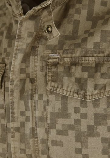 Pepe Jeans Outdoorjacke RUBENS, Dekorativer Reißverschluss