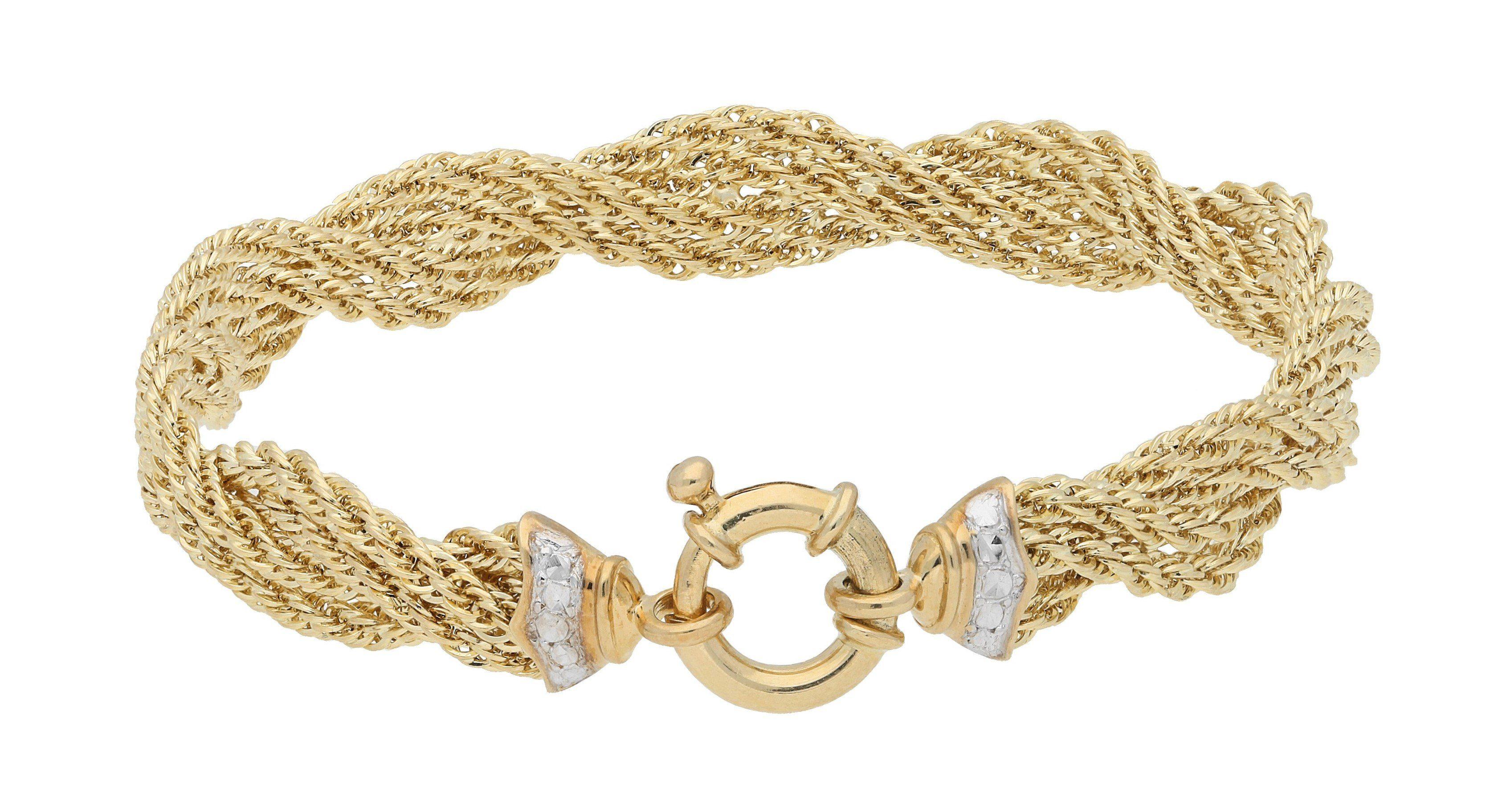 Firetti Armband »Kordel«