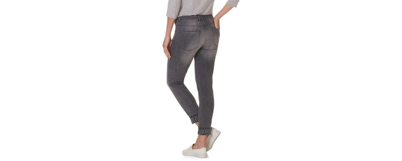 Betty Barclay Jeans stonewashed mit Leo Print Saumaufschlag Rabatt Bester Platz Billig 2018 Billig Verkauf Besuch Nicekicks Günstig Online zZyOd