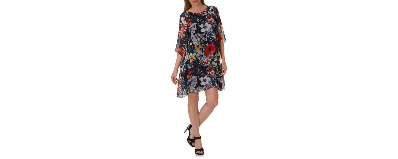 Betty Barclay Florales Kleid mit Trompetenärmeln Billig 100% Garantiert Billig Neue Stile Verkauf Online BaAWyEqX
