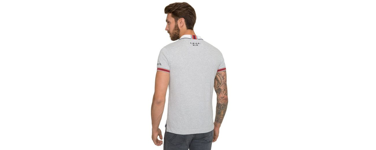 Verkauf Original Offiziell CAMP DAVID Poloshirt Billig Manchester 41p9n7TVcb